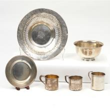 (6pc) STERLING SILVER HOLLOWARE