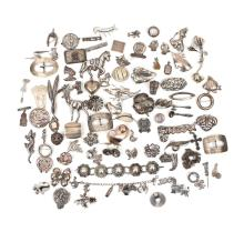 MISC. SILVER JEWELRY