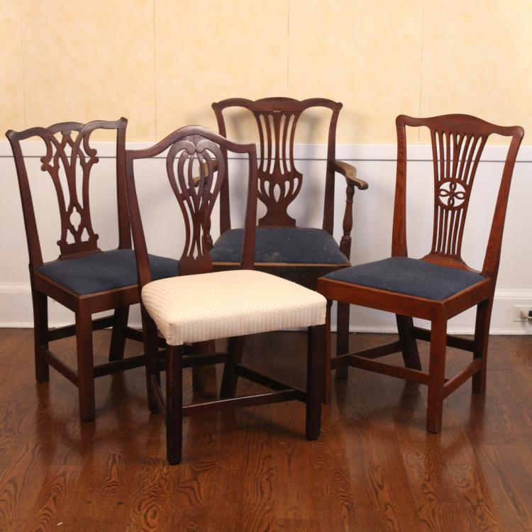 Chippendale Chairs Auction Chippendale Chairs