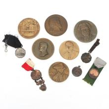 (11pc) COMMEMORATIVE MEDALS