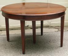 CENTENNIAL WALNUT ROUND DINING TABLE