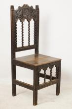 Antique Spanish chair
