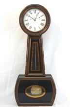 E. Howard banjo clock with Wells Fargo Face