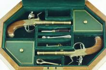 The Thomas Jefferson commem. dueling flintlocks