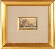 Percy Gray (1869-1952) watercolor