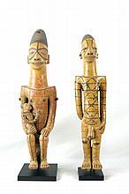 Pair of  African Art Ceramic Figures ~ Mogletou