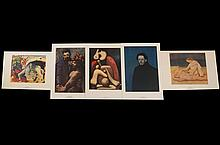 Pablo Picasso (1881-1973) collection 5 Lithographs
