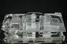 Daum France Crystal Glass Cadillac  - collectable