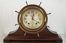 Seth Thomas 8 Day Ships  clock