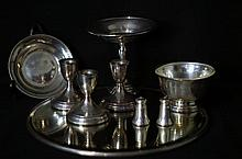 Collection of Sterling Silver Pieces - Compote