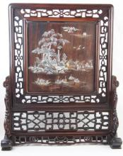 Chinese table screen - 25.5