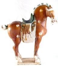 Chinese Tang horse - Sancai glaze