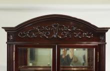Rosewood - China Cabinet - Brand New condition