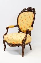 Late 19th cent. Victorian parlour chair