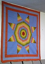 American shooting star hand made quilt