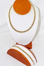 14kt Necklace & 14kt bracelet custom design