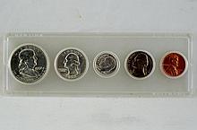 22 US proof sets cased - 1958-1964