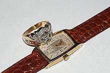 Hamilton Masonic men's watch & Diamond ring
