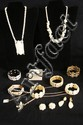 Lot of bone & ivory jewelry