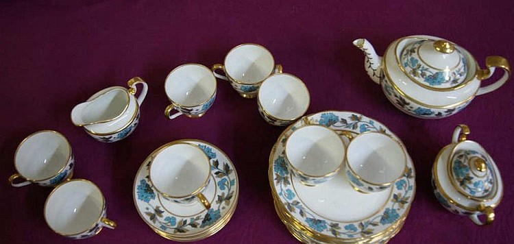 English Copeland 26 pc. China Tea Set