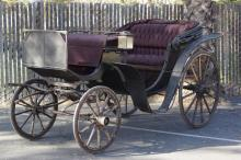 Horse Drawn Brewster & Co NY Carriage