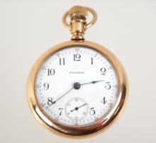 Antique Waltham men's pocket watch