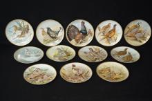 Haviland Limoges Gamebirds of the World plates