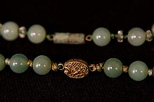 Coll. of Chinese Jade - Bracelet, necklace ring