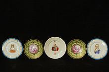 Sevres & Royal Doulton fine porcelain plates 5pcs