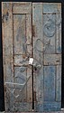 19th c. Quebracho doors hardwood NW Argentina