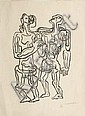 ZADKINE Ossip (1890-1967) Personnages
