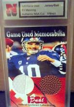 Eli Manning ball card