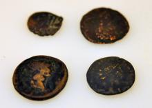 Bronze Roman antique coins