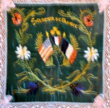 WWI souvenir French picture remembrance