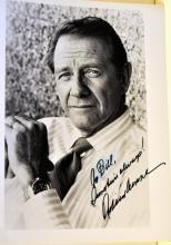 Photo signed Richard Crenna- '