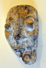 Ancient mammoth mask/ Java