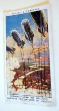 WWI tobacco cards/Wills cigarettes