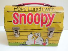 Snoopy luch box/vintage