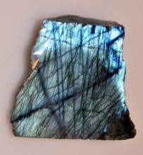 Labradorite stone specimen /changes color