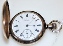 American Waltham pocketwatch silver