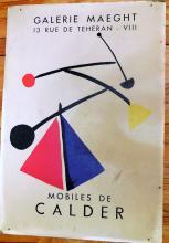 Calder poster/vintage Gallery