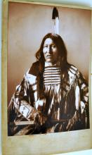 American Indian image/studio card