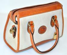 Dooney & Burke leather bag