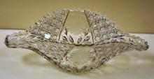 Cut glass bowl/vintage