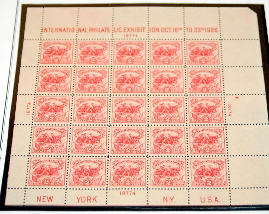 US stamps/Battle of Plains