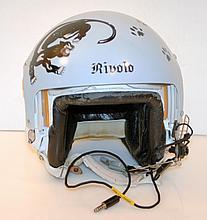 Air force fighter pilot helmet