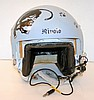 Air force fighter pilot helmet