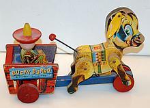 Vintage Bucky Burro Fisher Price toy