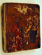 Antique 15th c . Icon
