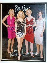 Signed photo Sex/City cast